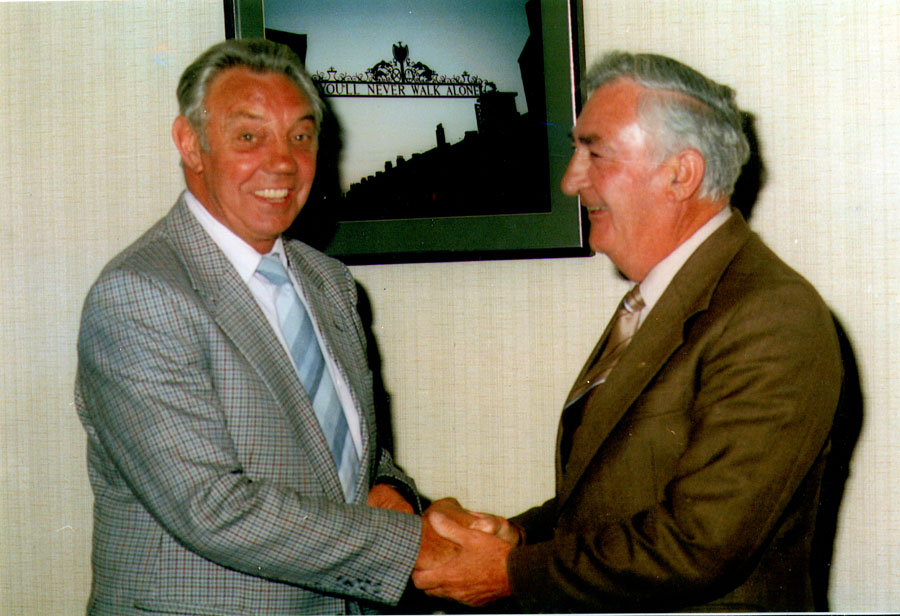 Joe Fagan and Joe Templeton